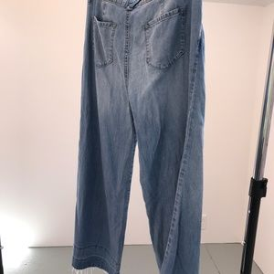 WIde-legged Crop  Jean